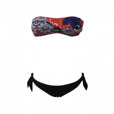 MISS BIKINI LUXE bikini donna fascia fodera estraibile mod 18281 color BAPR UNICO