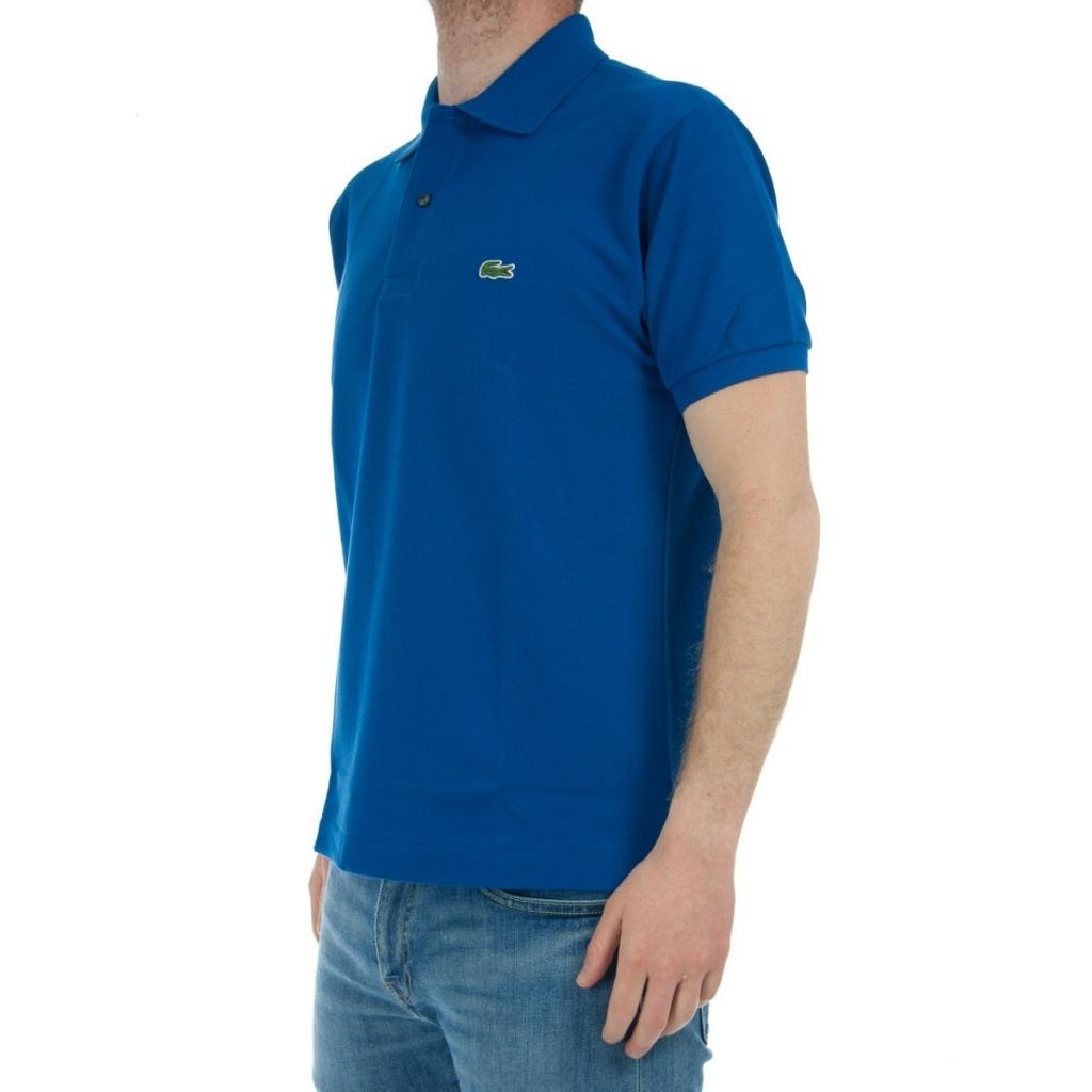 099753b05db9 Lacoste Men s Polo L1212 Piquet Mc Z7Z T-Shirt