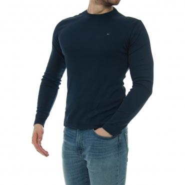 Tshirt Uomo Tommy Hilfiger Jeans Manica Lunga Cotone errato