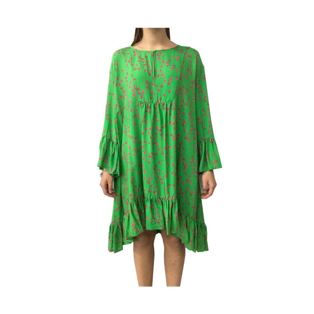 cheap for discount 095d2 b3805 ATTIC AND BARN - ATTIC AND BARN abito donna verde fantasia mod ALTA...