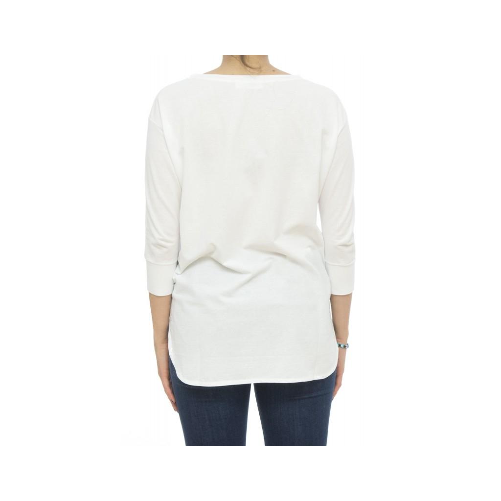 Polo - 852.002 z0480 T-Shirt Eisbaumwolle Z0001 - Weiß