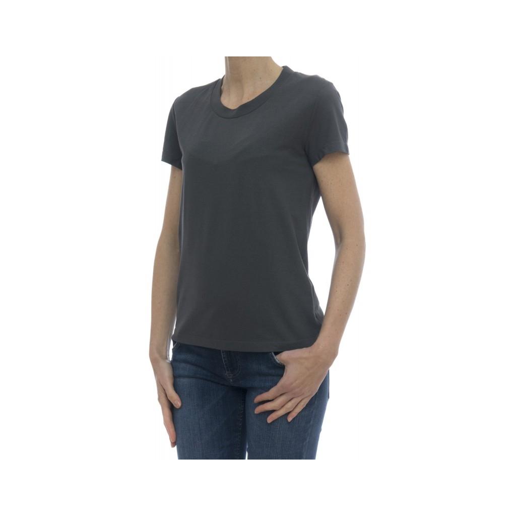 T-Shirt - 850 025 z0480 T-Shirt Eisbaumwolle Z0914 - Asphalt