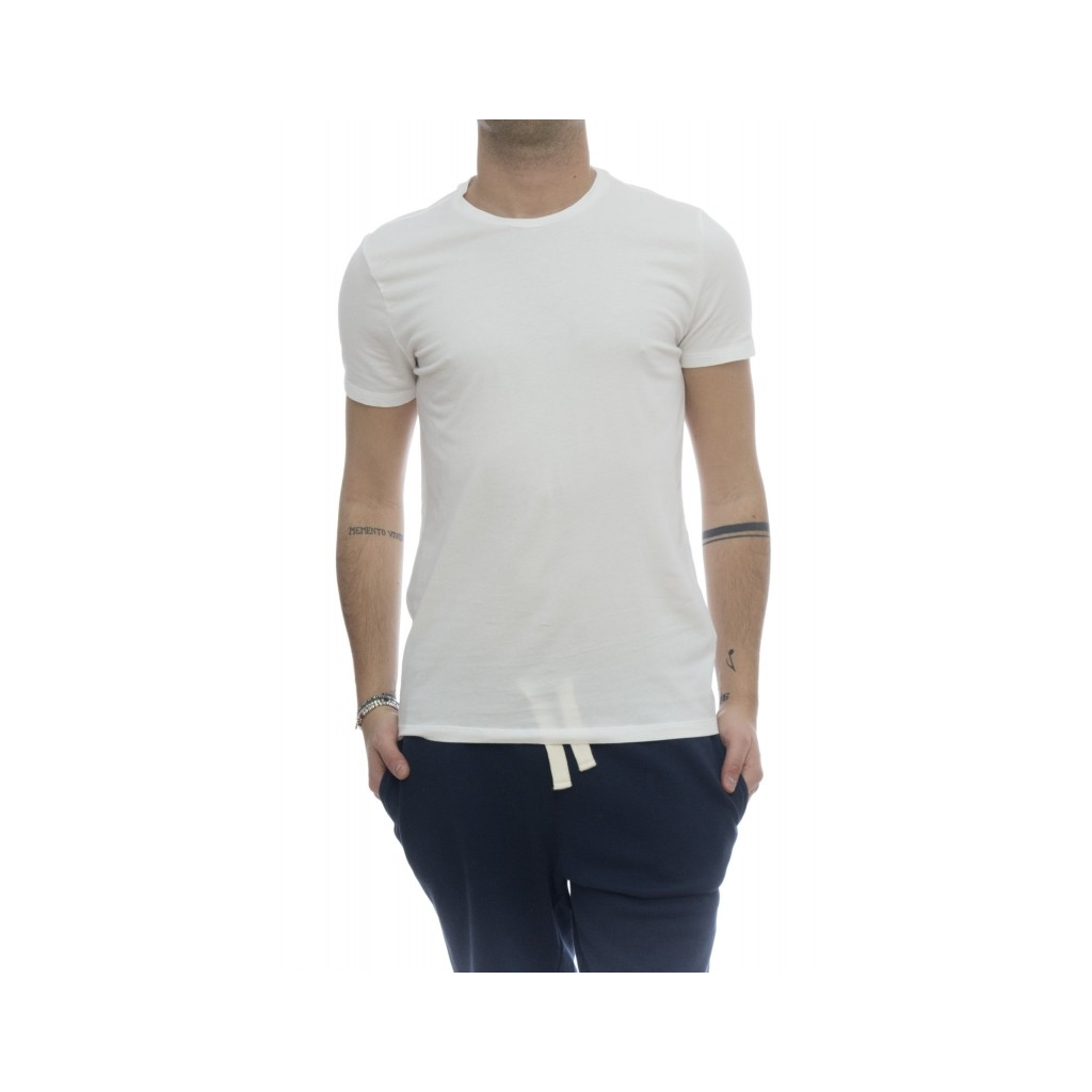 T-shirt - 001 07 cotton crep crewneck t-shirt 001 - white
