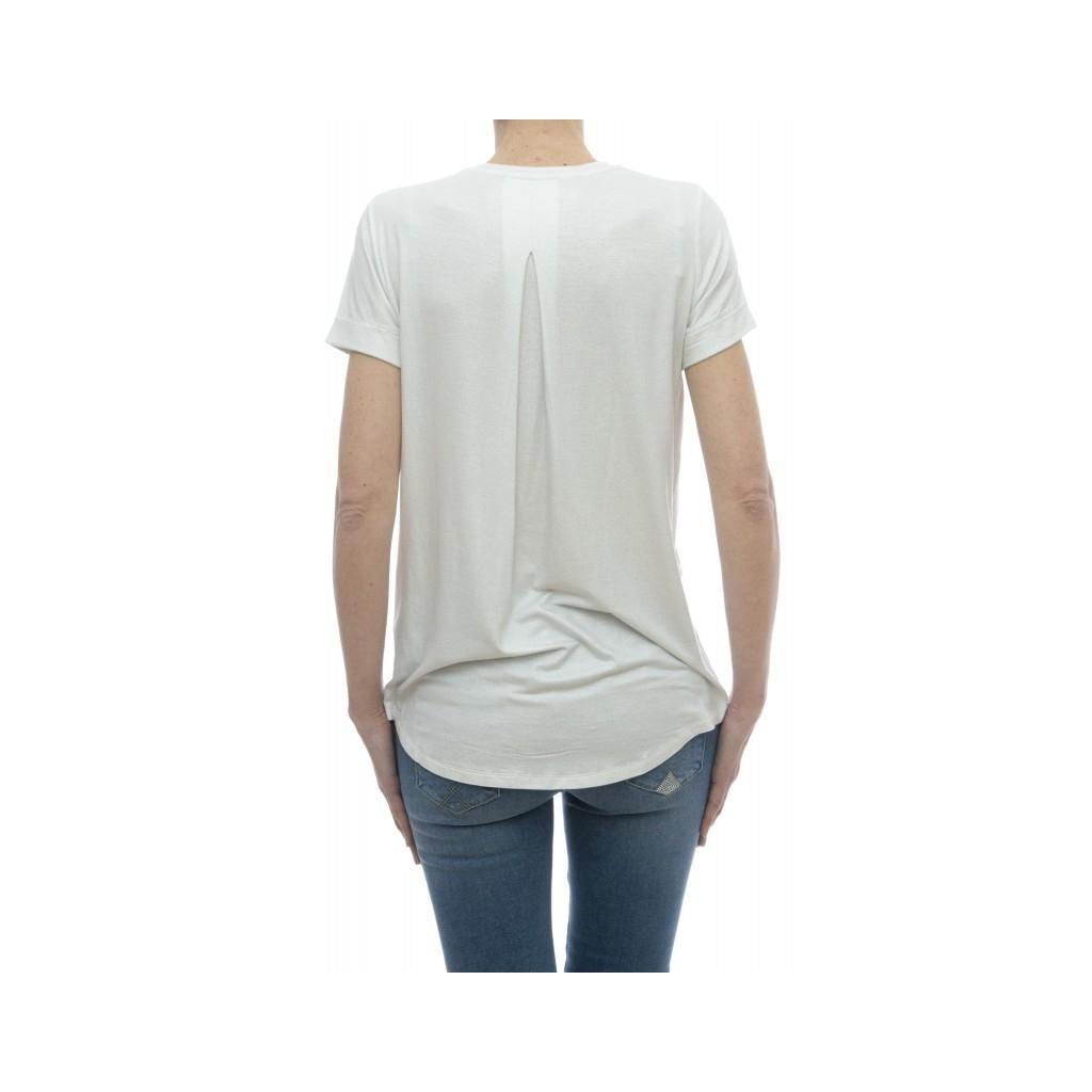 T-shirt - E03 12  94 viscosa 6 elastane 617 - Metal Silver