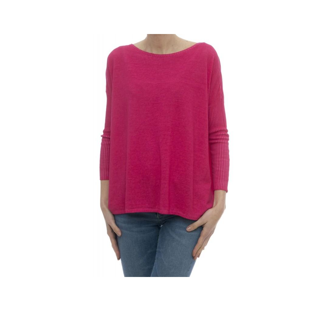 Maglieria - 1489380 maglia over cotone tinto freddo Azalea