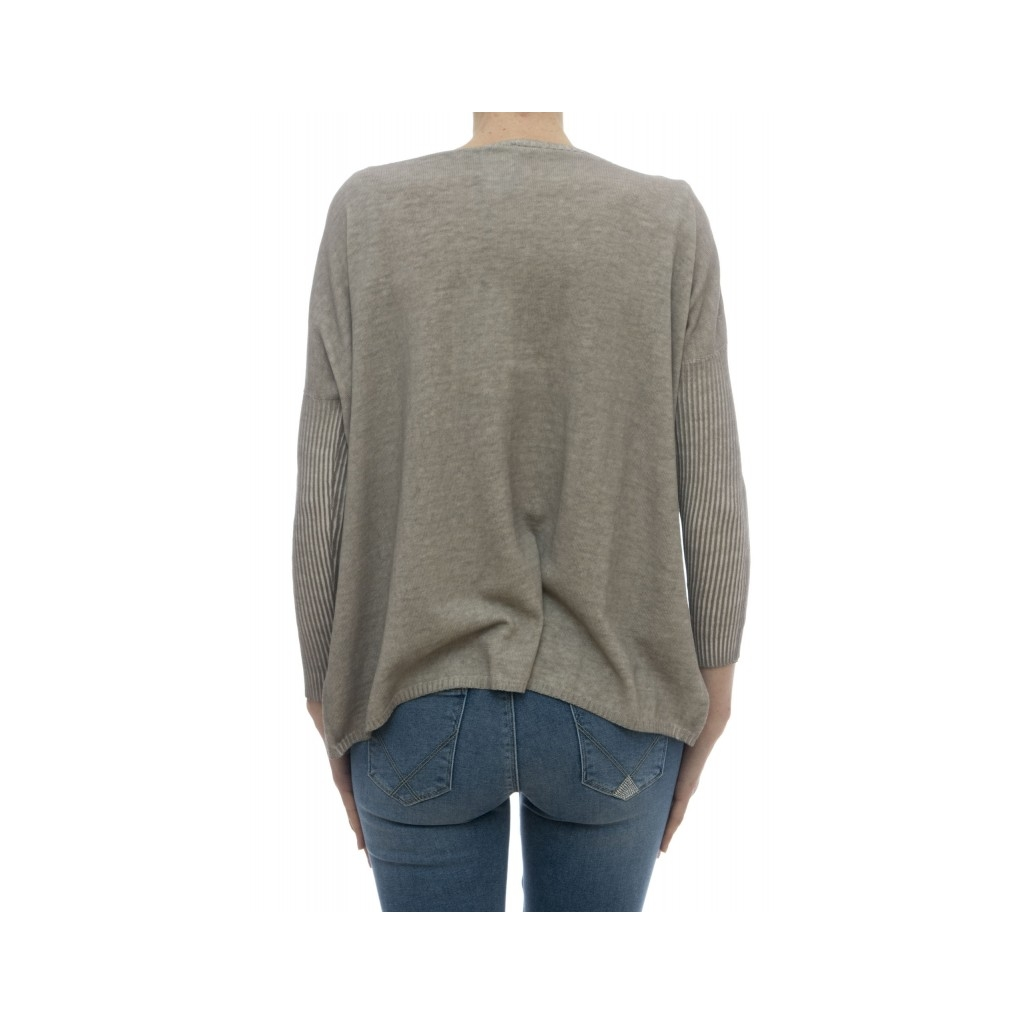 Maglieria - 1489380 maglia over cotone tinto freddo CORDA