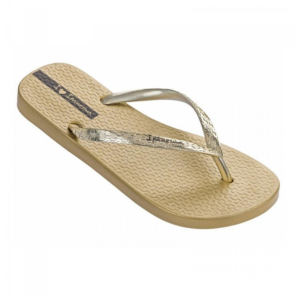 IPANEMA infradito donna Glam Fem 82398 Limited Edition MADE IN BRAZIL Oro