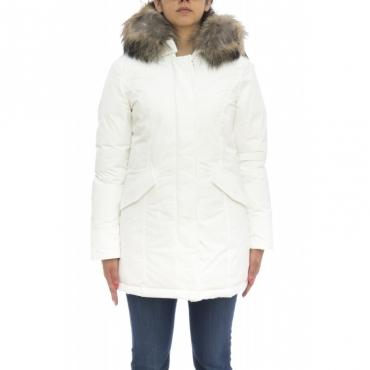 Piumino - Wwcps2604 cf40 new luxury artic parka 8270 - Bianco