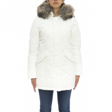 Piumino - Wwcps2604 cf40 new luxury artic parka 8270 - Bianco