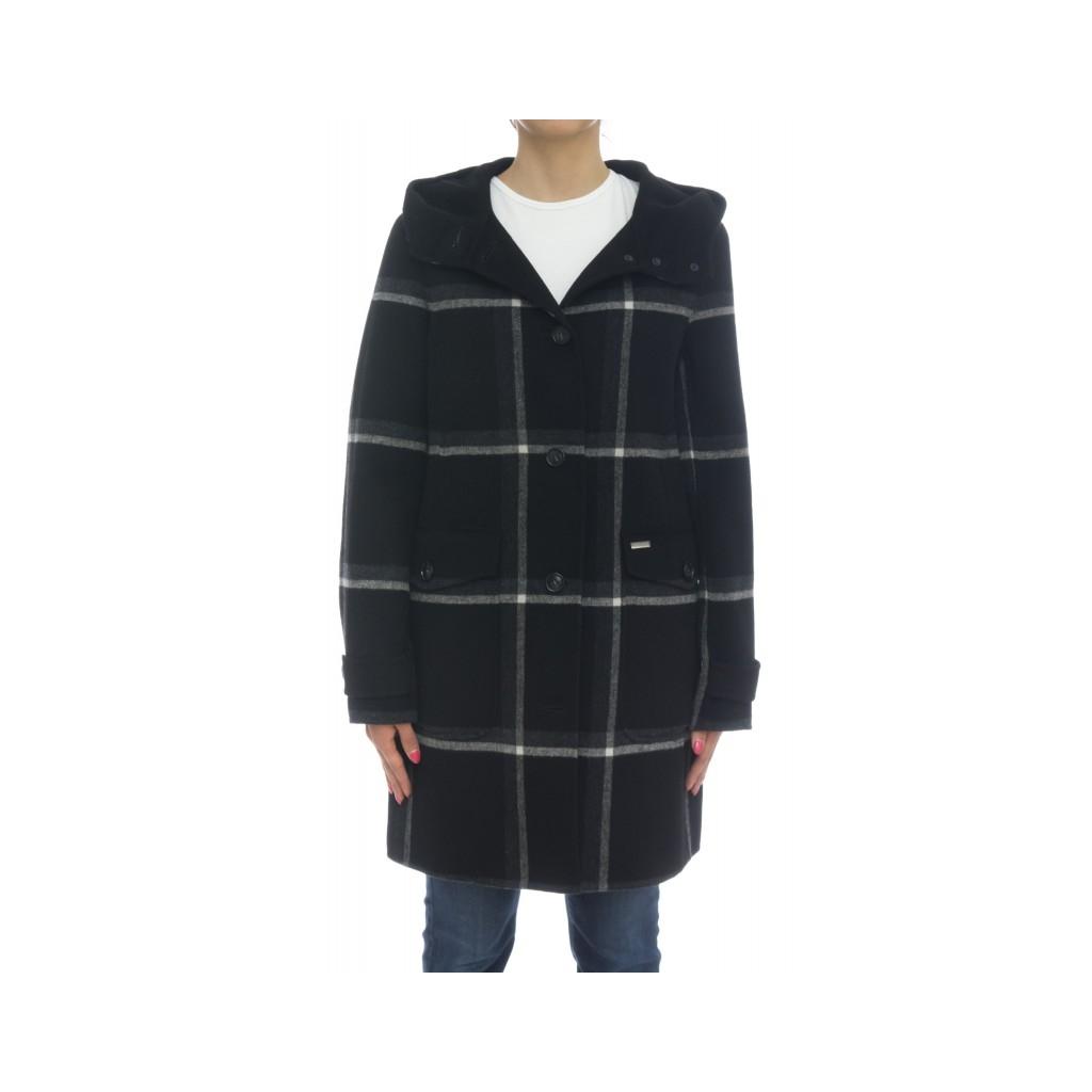 Piumino - Wwcps2618 df06 cappotto marcy coat 1564 - Nero