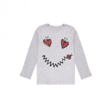 T-SHIRT BAMBINA SMILE BUG THUNDER
