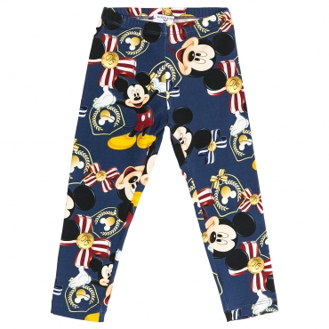 LEGGINGS MICKEY BAMBINA AVIO