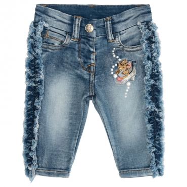 JEANS NEONATA DENIM