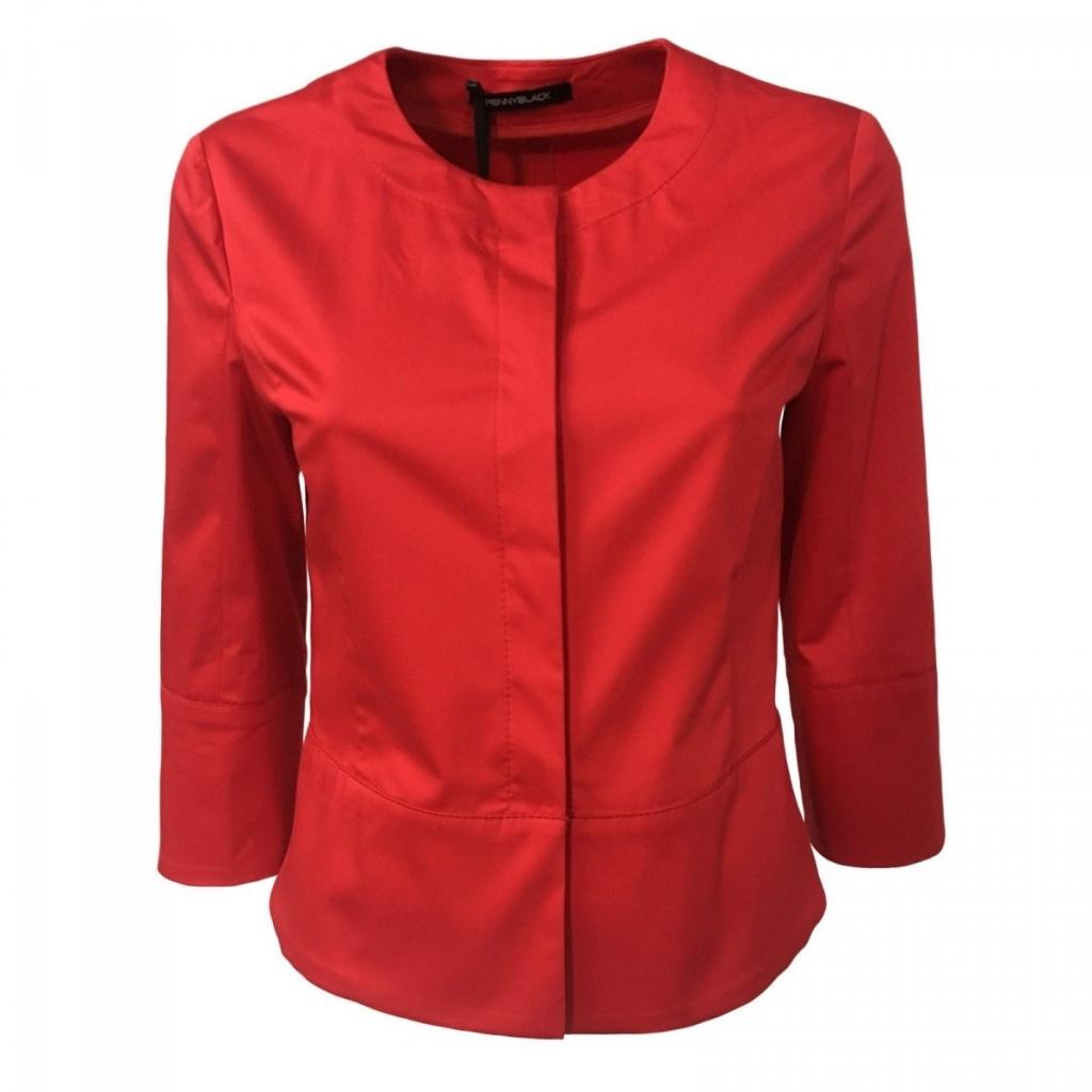 on sale ab932 cf0ee Pennyblack - PENNYBLACK giacca donna rosso manica 3/4 mod BAGLIO 9...