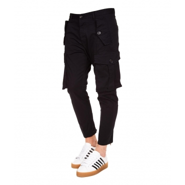 Sexy Cargo Fit Hose Black