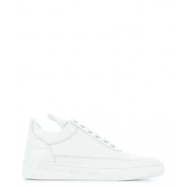 Sneaker Low Top Plain White