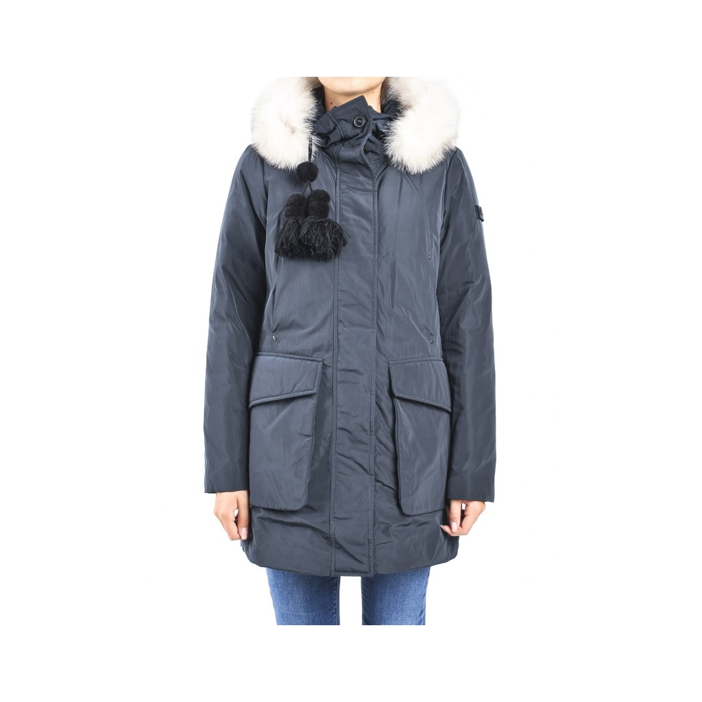 promo code 19c82 f844b Queen jacket gb 01 fur BLUE NIGHT | Bowdoo.com