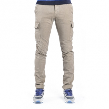 Pantaloni con tasconi BEIGE