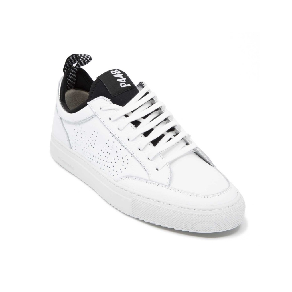 P448 - Sneakers Sohosocks bianche e nere WHITE - Sneakers  c6c6d08590a