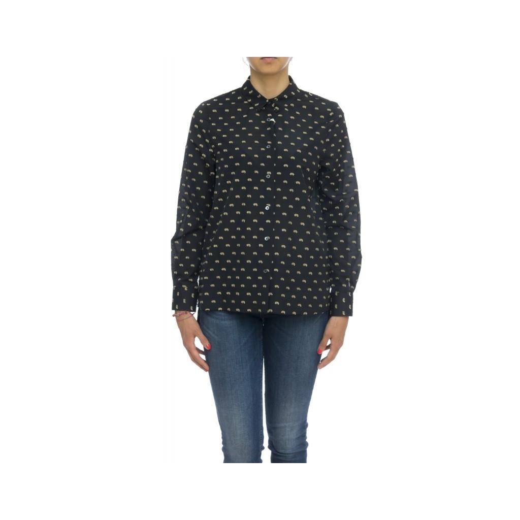 Camicia donna - FEDERICA 35409 001 - Nera