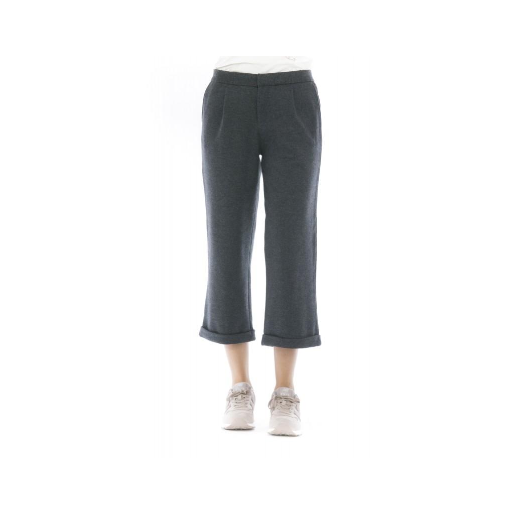 Pantalone Donna - P28023 47 - Grigio scuro