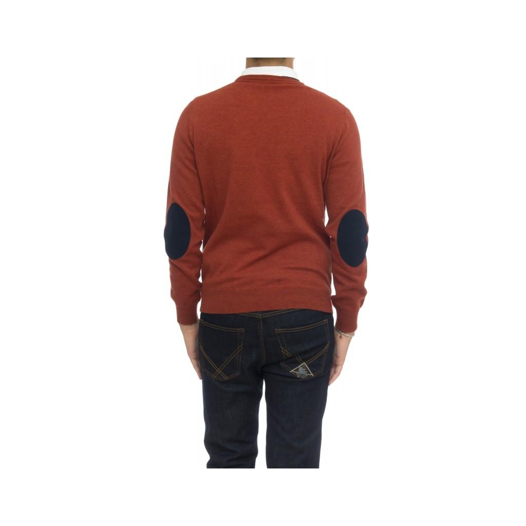 Herrenhemd - 6008 / 01-01 Rundhalsausschnitt Alcantara 998 - Coccio