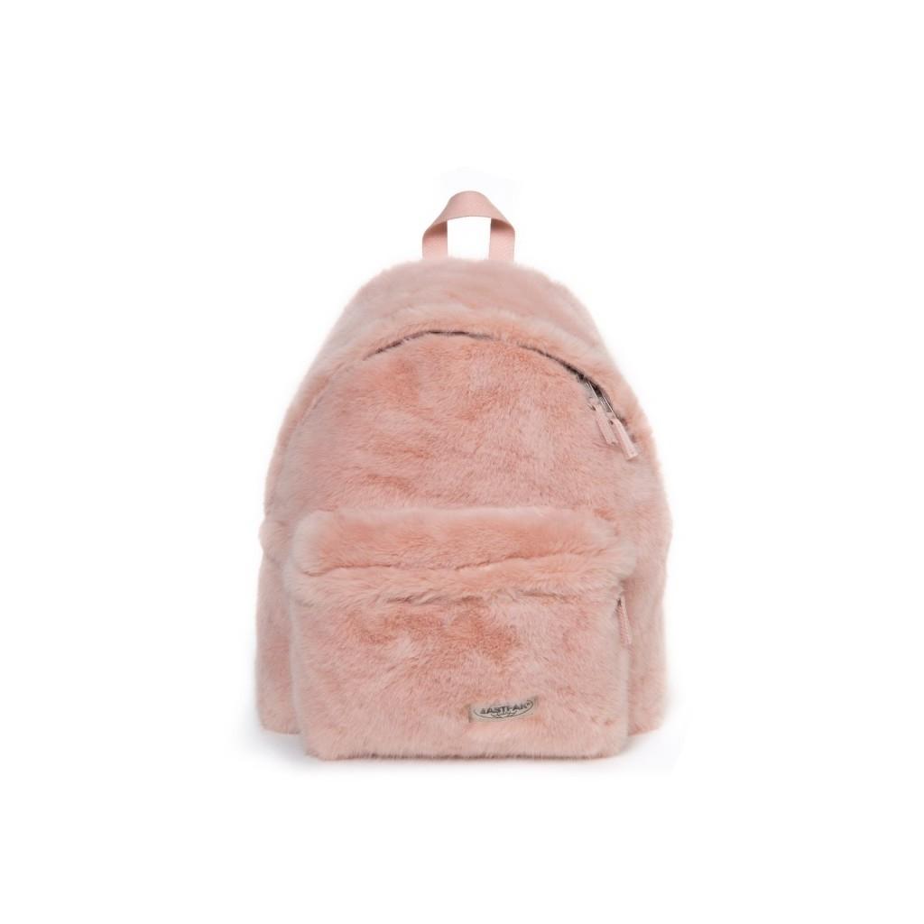 4d12ef5ff2 Padded Pakr backpack faux fur pink PINK FUR | Bowdoo.com
