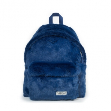 Zaino Padded Pakr eco-pelliccia blu BLUE FUR