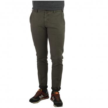 Trousers Verdera Man Barbed Pocket America 9 TORTORA