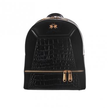 Borsa backpack la portena NERO