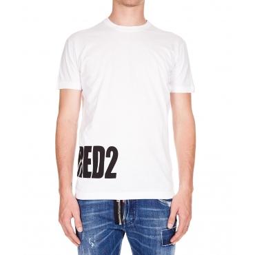 T-Shirt stampata Black