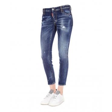 Pantaloni Jeans Blue