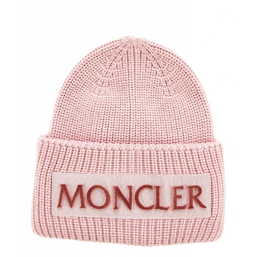 moncler - Berretto con logo UNICO - Cappelli e Berretti  3bcdf606f885