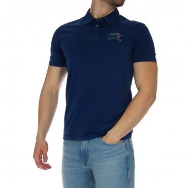 Polo Napapijri Uomo Jersey BA3 BLUE DEPTHS