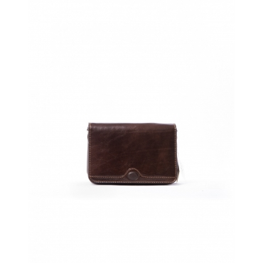BROWN SHOULDER LEATHER BAG