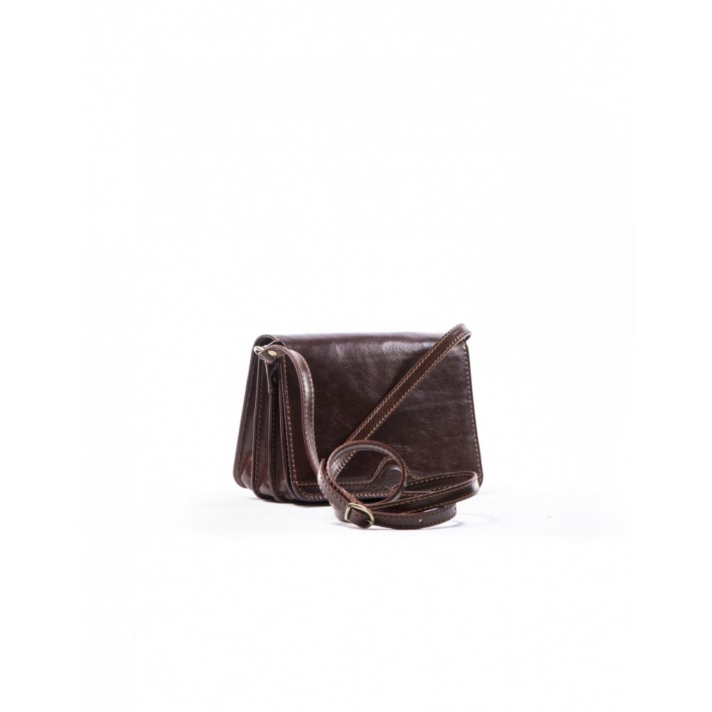 BROWN SHOULDER LEATHER BAG