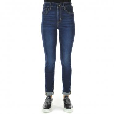 Jeans Levis Donna 721 Vita Alta Skinny L30 0126 ARCADENIGHT