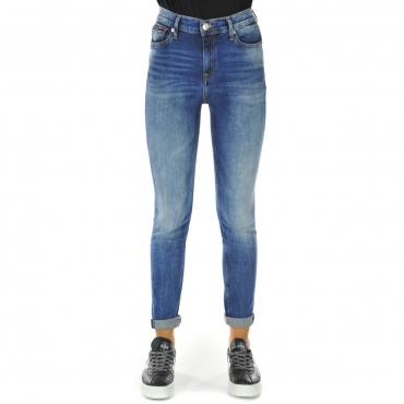 Jeans Tommy Hilfiger Donna Nora Mid Rise Skinny 991 HORIZON LIGH