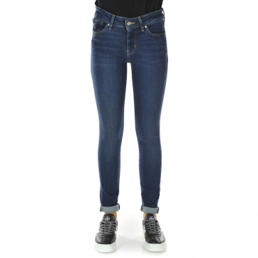 Jeans Levis Donna 711 City Blues Skinny L 30 0196 CITY BLUES