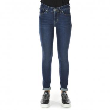 Jeans Levis Donna 711 City Blues Skinny L 30 0196 CITY BLUES