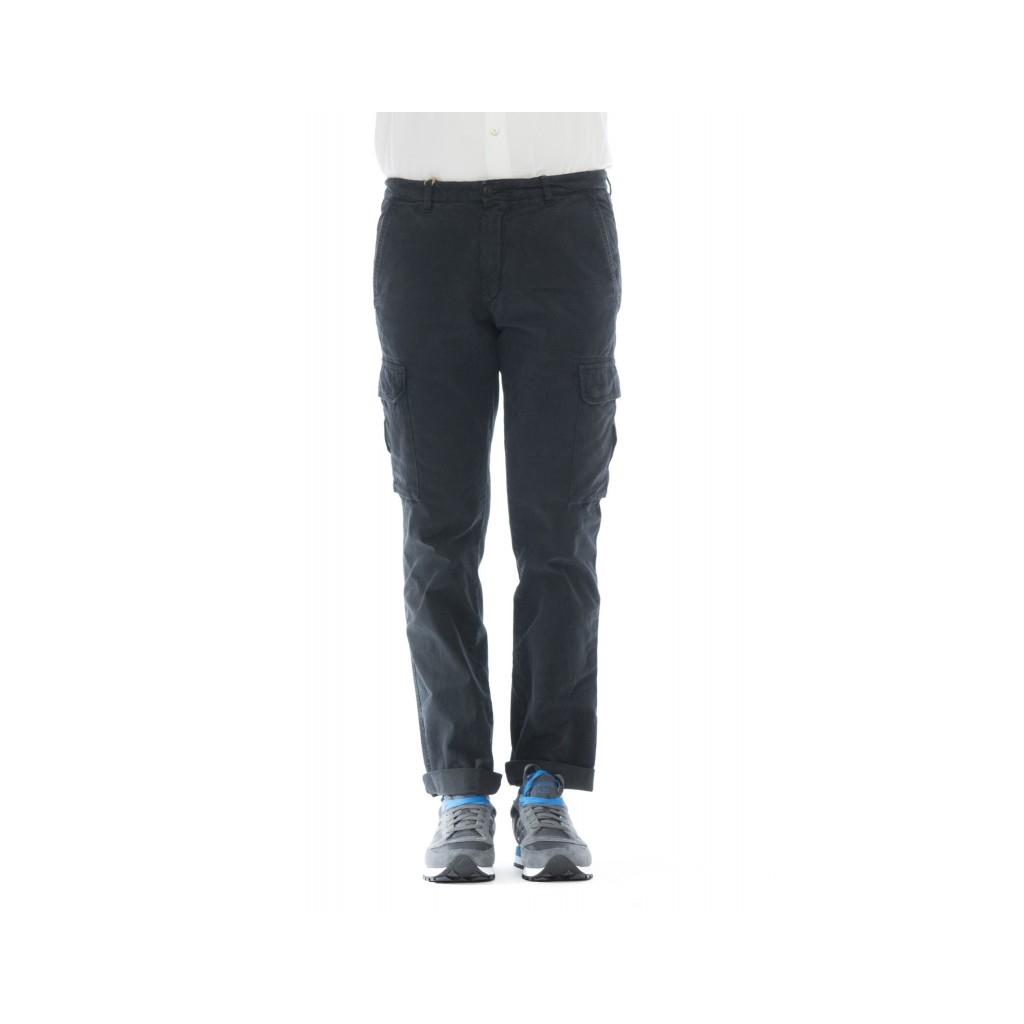 Pantaloni - Aiko 804 tasconato gabardina lavata W1909