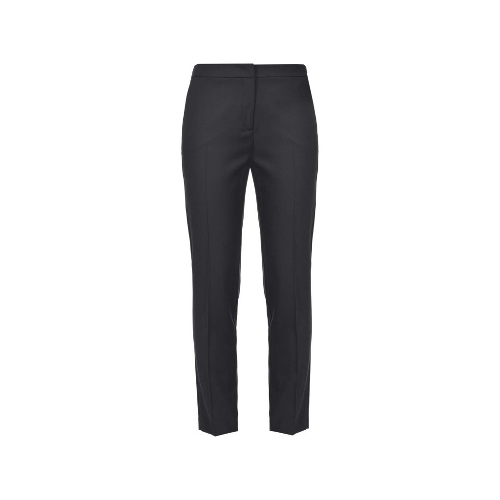 Pantalone stretch in crepe Z99BLACK