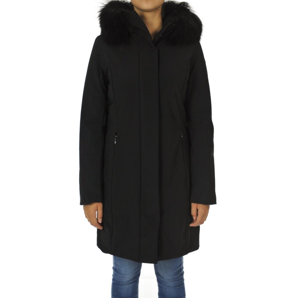 Fur Design Roberto Donna Longlady Rrd NERO Ricci 10 Giacca Winter T0qxUFw