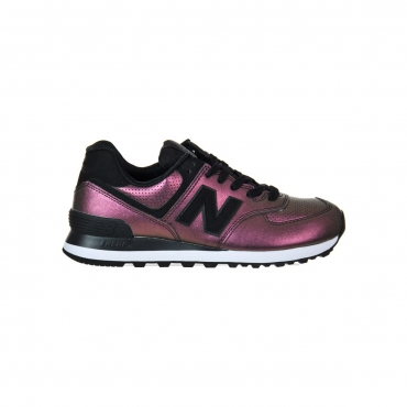 Scarpa New Balance Donna 574 Synt Leather Lifest Ksb KSB BLACK