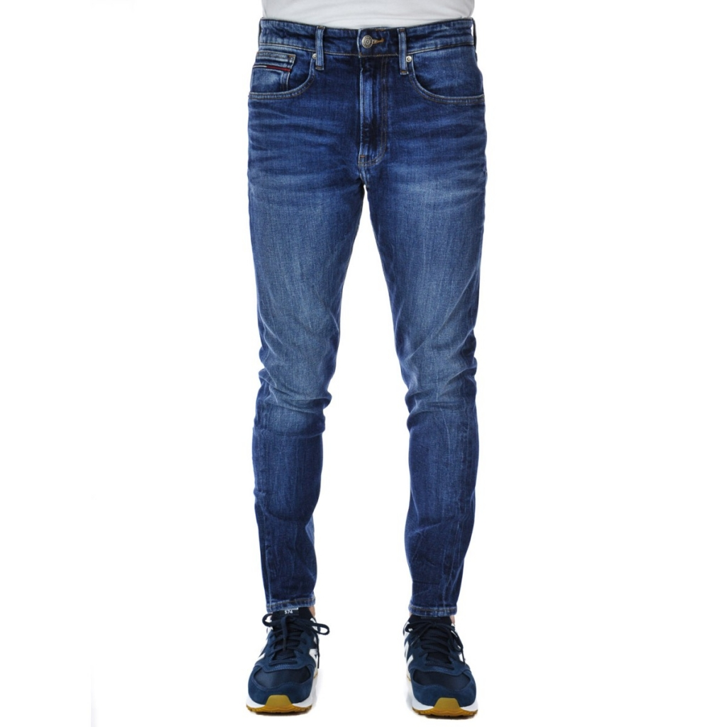2d7da4f41 Tommy Hilfiger Jeans for Men Modern Tapered 911 DARK BLUE | Bowdoo.com