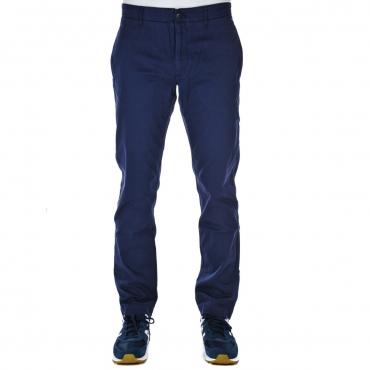 Pantalone Tommy Hilfiger Jeans Uomo Chino Slim Essent 002 BLACK IRIS