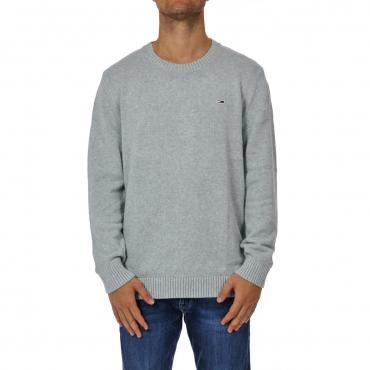 Maglia Tommy Hilfiger Uomo Classic Sweater 038 LT GREY