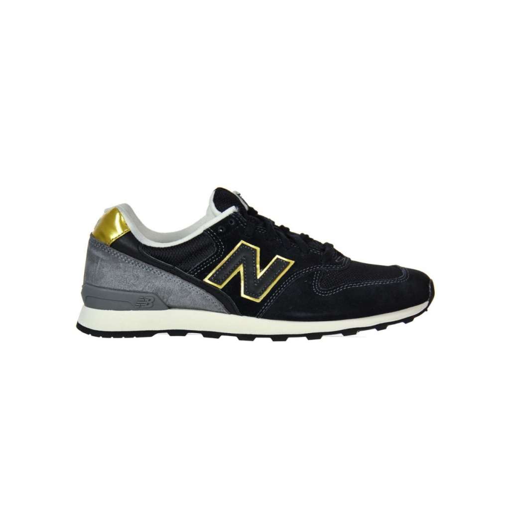 New Balance Women's Shoe 996 Suede Mesh Lifestyle Fbk FBK BLACK |