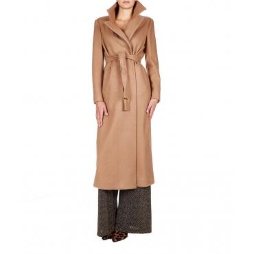 Maxi cappotto Beige
