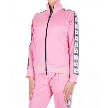 Giacca 80s Jacket Logomania Pink